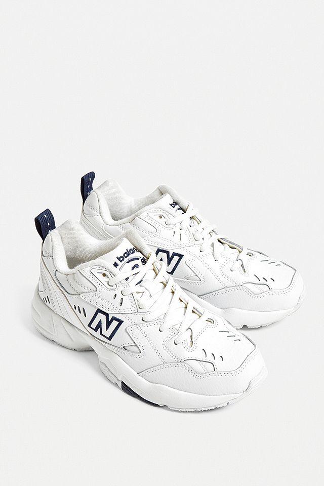 New Balance 608 White Trainers