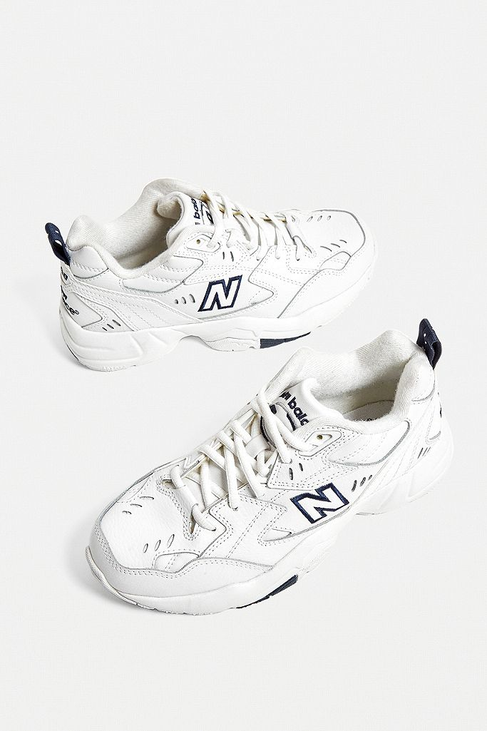 New Balance 608 White Trainers