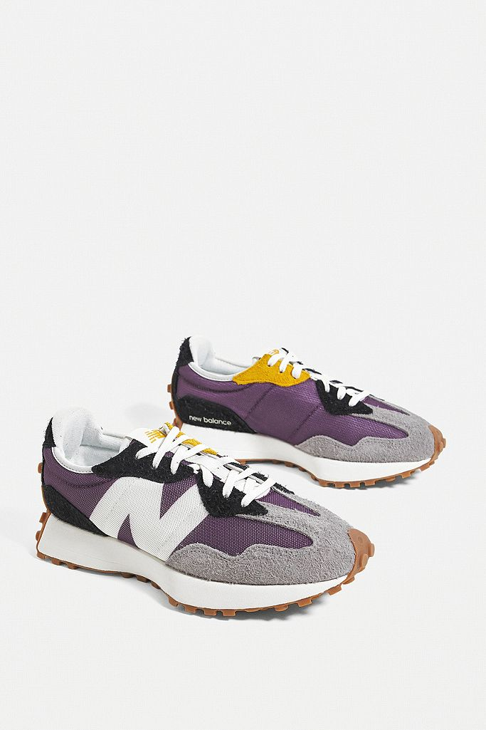 327 new balance kaki purple