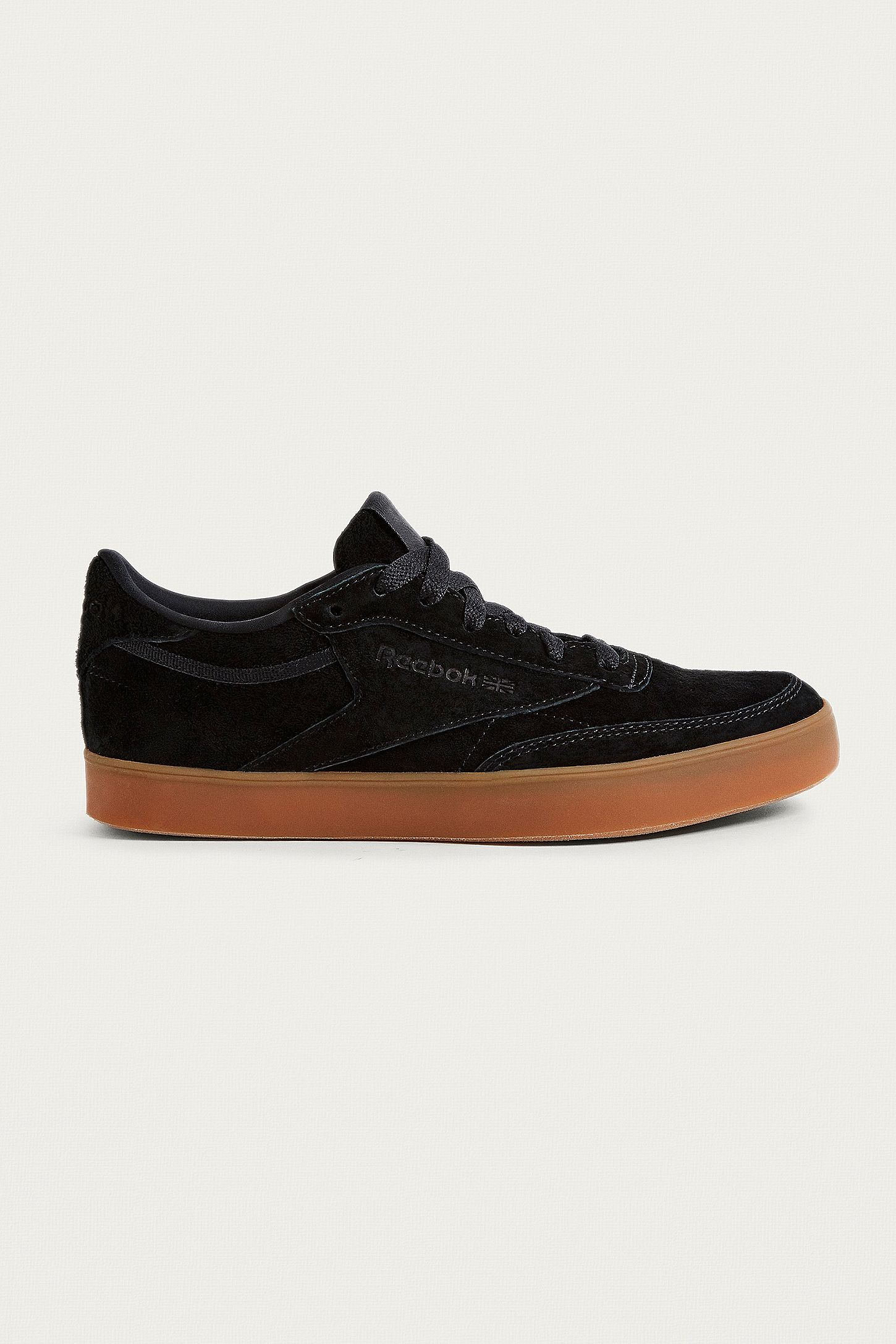 51e93f1318773 Reebok Club C 85 FVS Black Trainers. Click on image to zoom. Hover to zoom.  Double Tap to Zoom