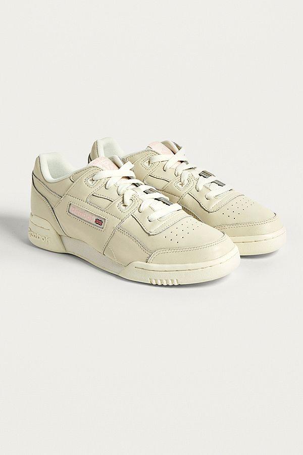 3bb6921784c4a Reebok Workout Lo Plus White Trainers