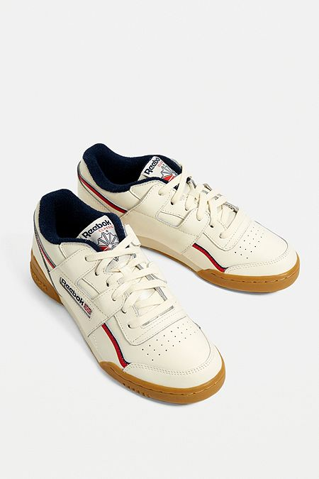 6b7a6e1ccf5 Reebok Workout Plus MU Cream Trainers