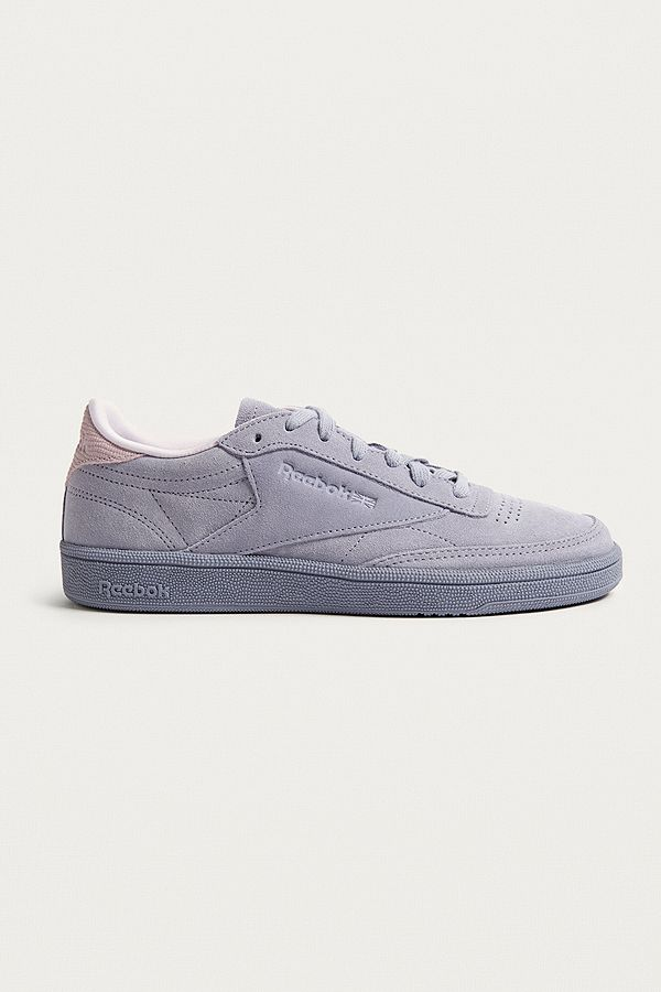 1e6f100c683aa Reebok Club C 85 SG Purple Suede Trainers