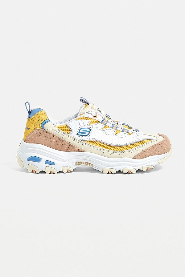 dc571a039059 Slide View  1  Skechers D Lites Second Chance Trainers