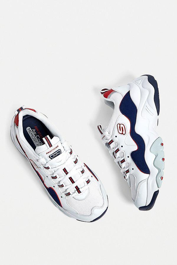 0 Trainers 3 D'lites White Skechers YD2WHE9I