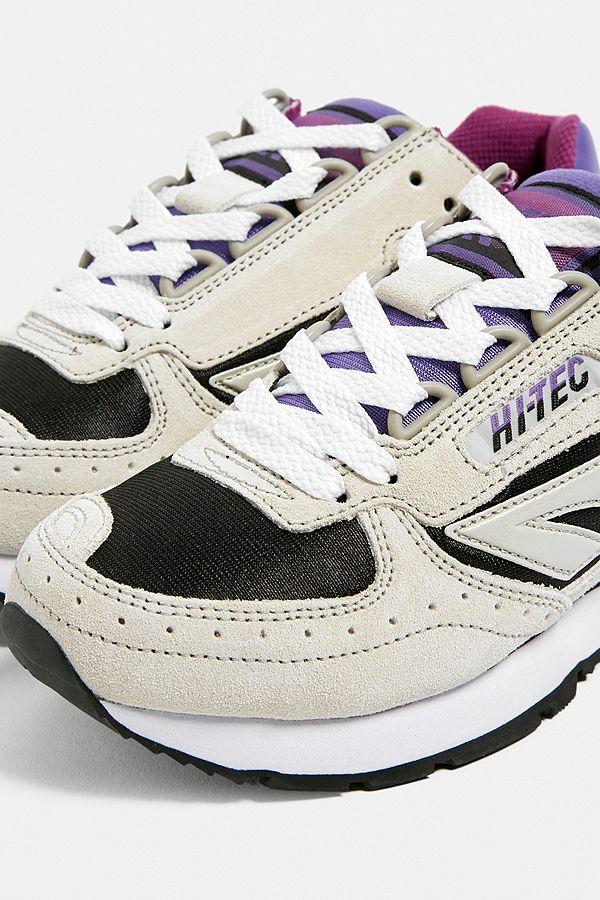 fa826e7000c Hi-Tec Silver Shadow Purple Trainers
