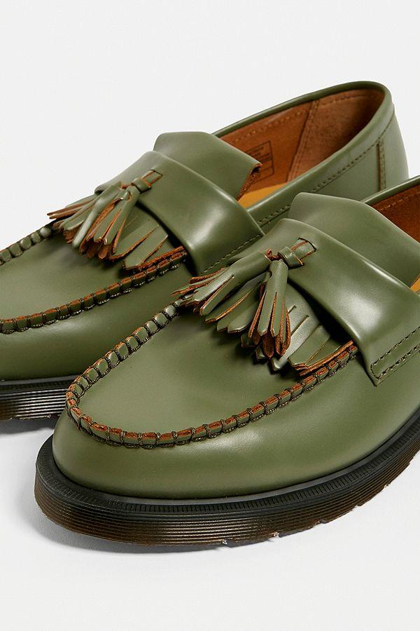 größte Auswahl schönes Design tolle sorten Dr. Martens Adrian Khaki Tassel Loafers