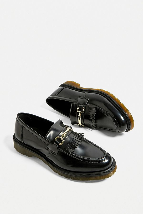 outlet on sale the latest cute cheap Dr. Martens Adrian Black Snaffle Loafers   Urban Outfitters UK