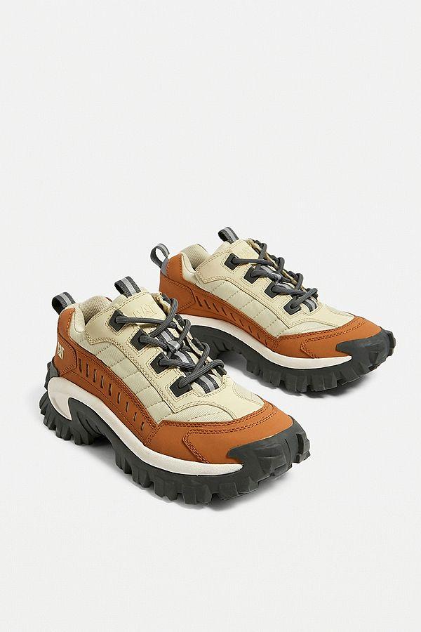 137ea0fc2f3a8 CAT Footwear Intruder Cashew Trainers | Urban Outfitters UK