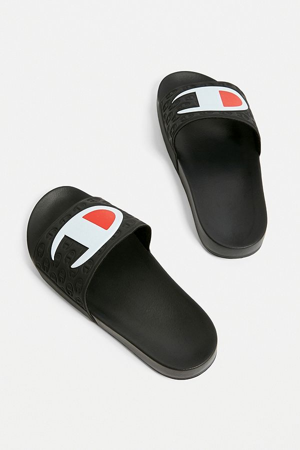 9731b1294dffb Slide View  4  Champion Multi-Lido Black Pool Sliders