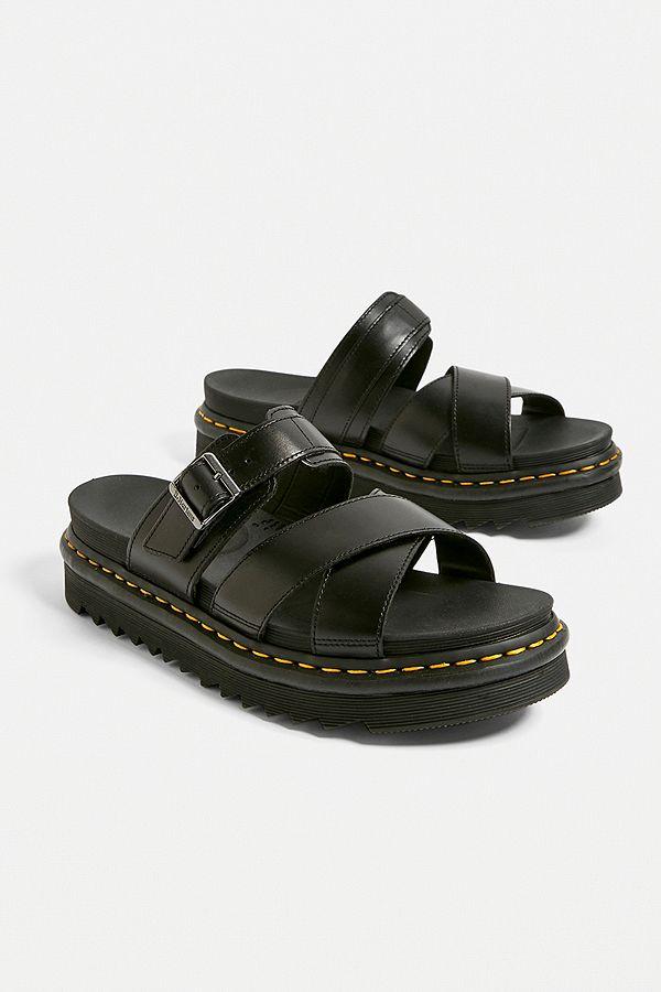 Dr. Martens Ryker Black Bando Sandals