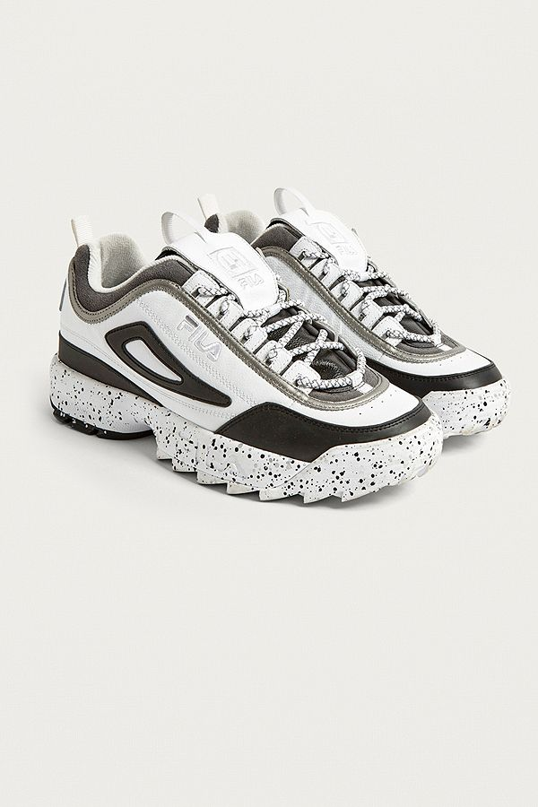 c7a85bbcd44 FILA X Liam Hodges Disruptor II Speckle Trainers   Urban Outfitters UK