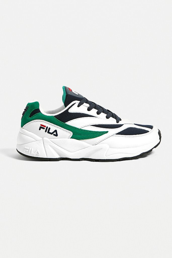 FILA Venom White and Glade Trainers