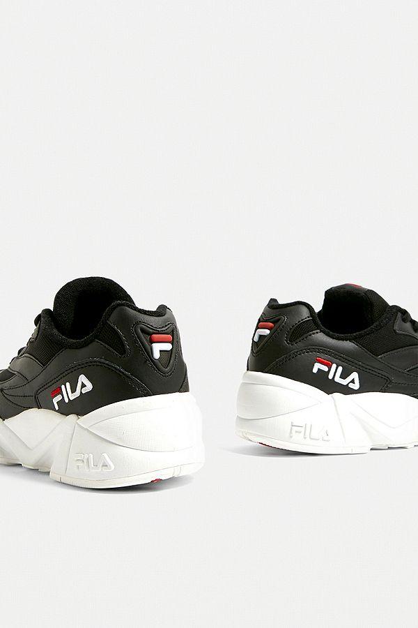 FILA Venom Black + White Trainers