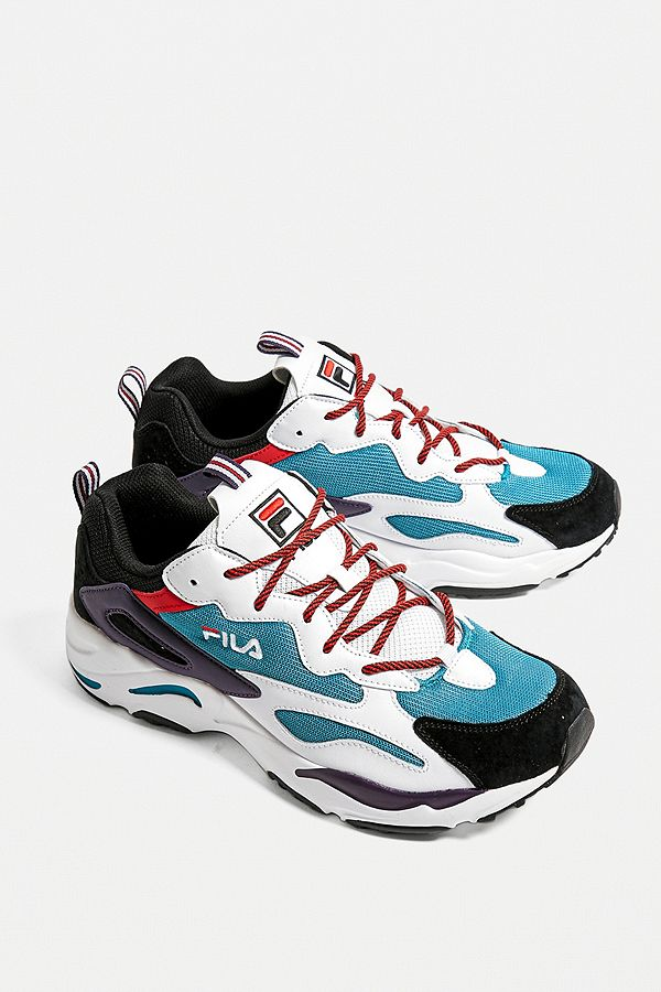 release info on online store latest FILA Ray Tracer Blue Trainers
