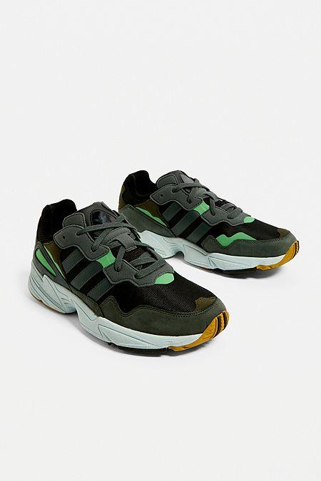 dba8ad61b1024 adidas Yung-96 Green Trainers