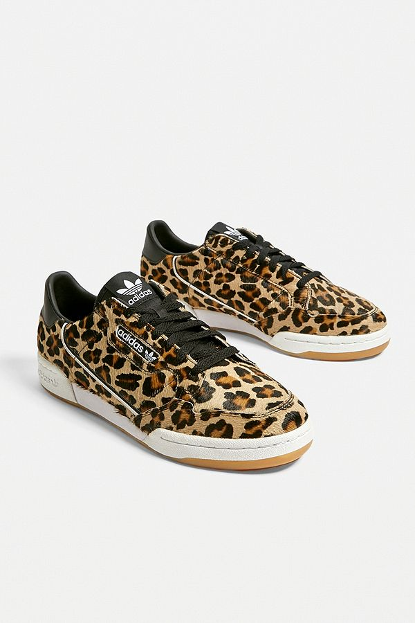 adidas Continental 80 Leopard Trainers