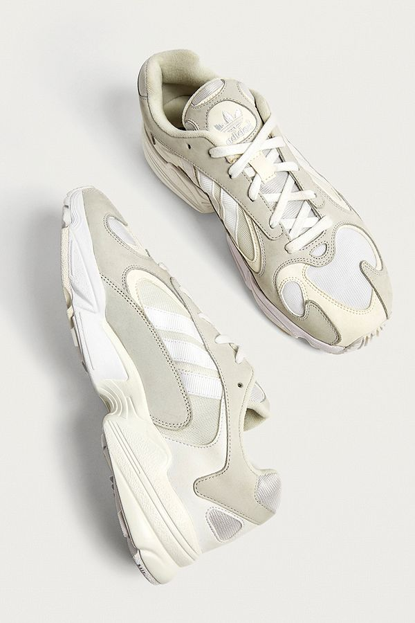 b33a6375 adidas Yung-1 White Trainers