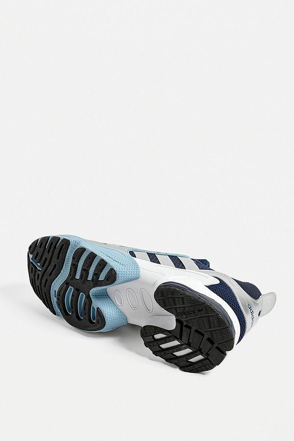 excellent quality 100% quality unique design adidas - Baskets EQT Gazelle blanches et bleu marine | Urban ...