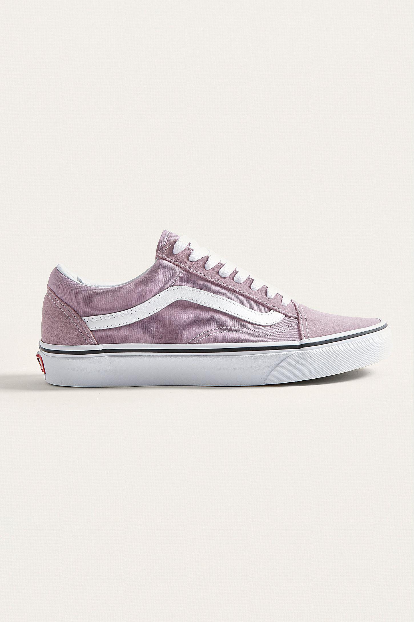 e442b20956 Vans Old Skool Purple Trainers