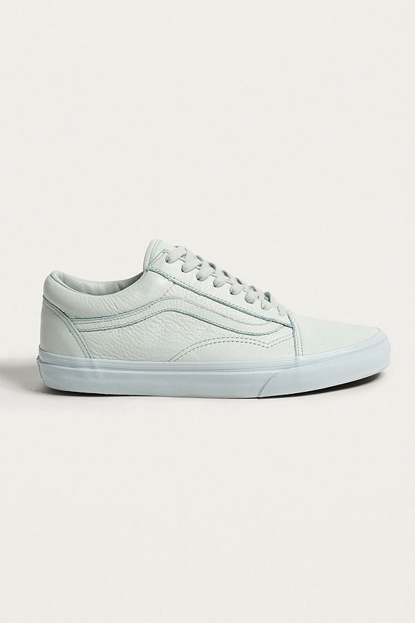 vans old skool wit leather