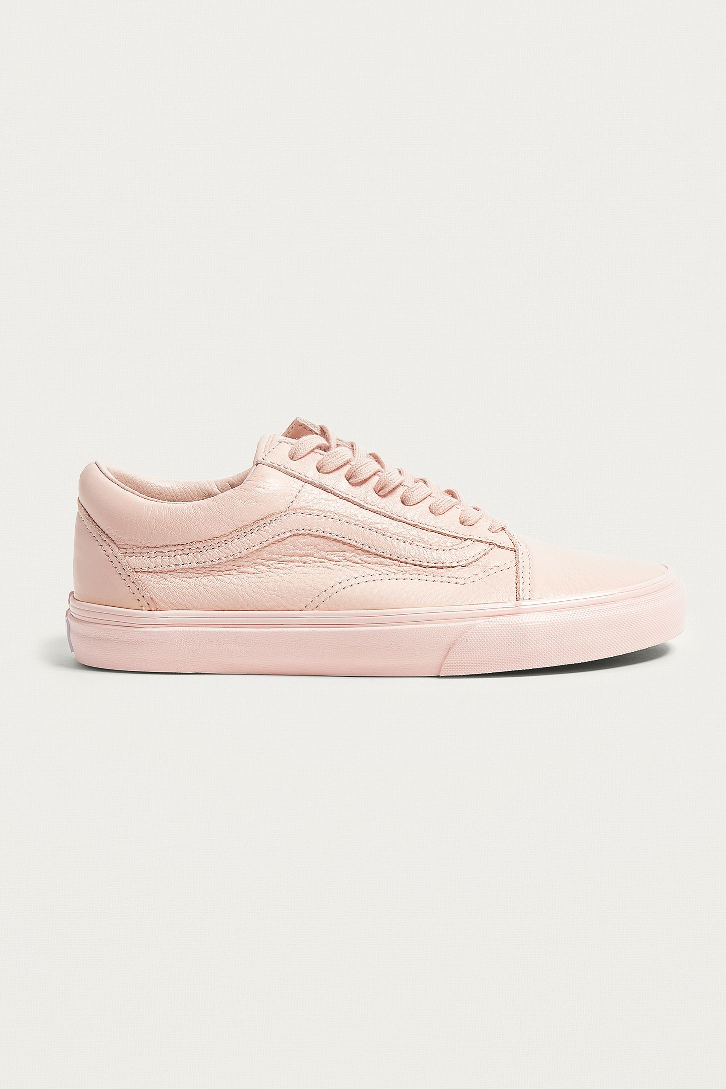 454f585ac6 Vans Old Skool Pink Leather Trainers