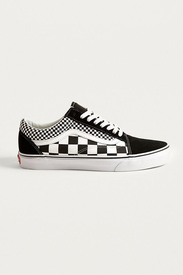 Vans Old Skool Multi Checkerboard Trainers