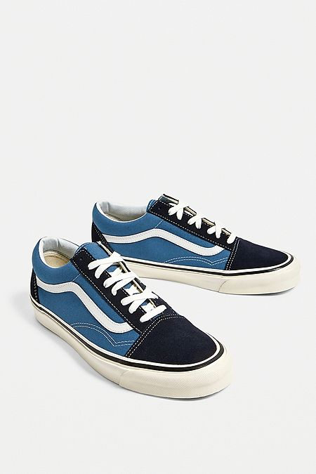 Vans Old Skool Anaheim Factory 36 DX Blue Trainers 3dd36e332