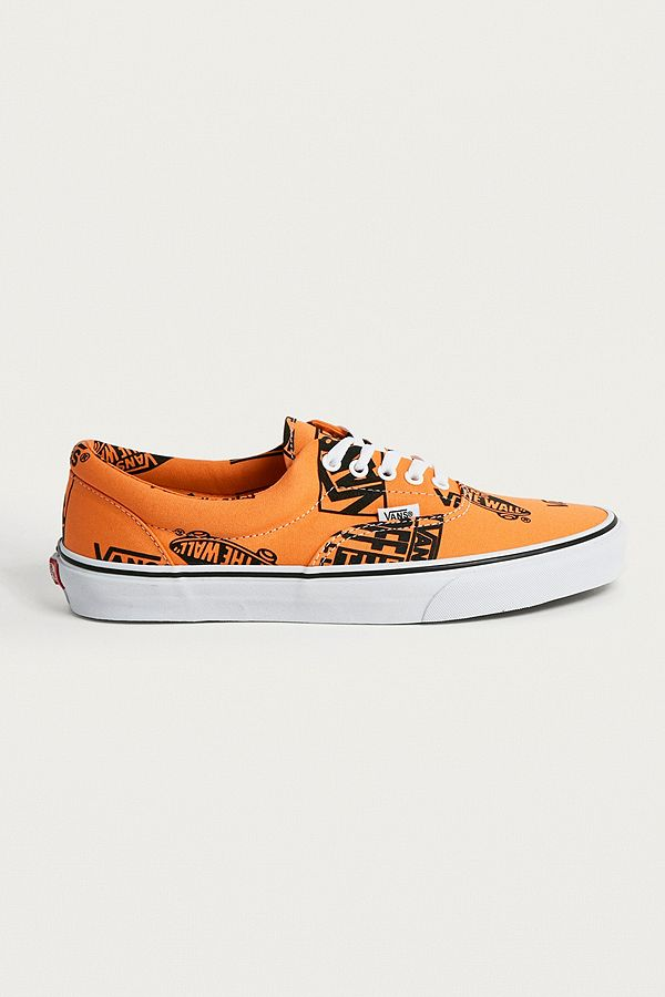 c4c3cb94221b7e Vans Era Logo Mix Orange Trainers