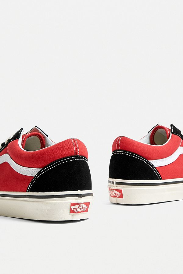 vans - old skool rouge