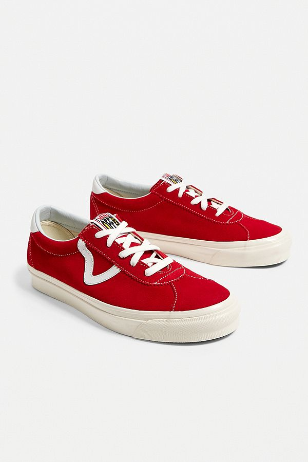 "sports shoes 929a3 f0b21 Vans – Sneaker ""Anaheim Factory Authentic"" aus Wildleder in Rot"
