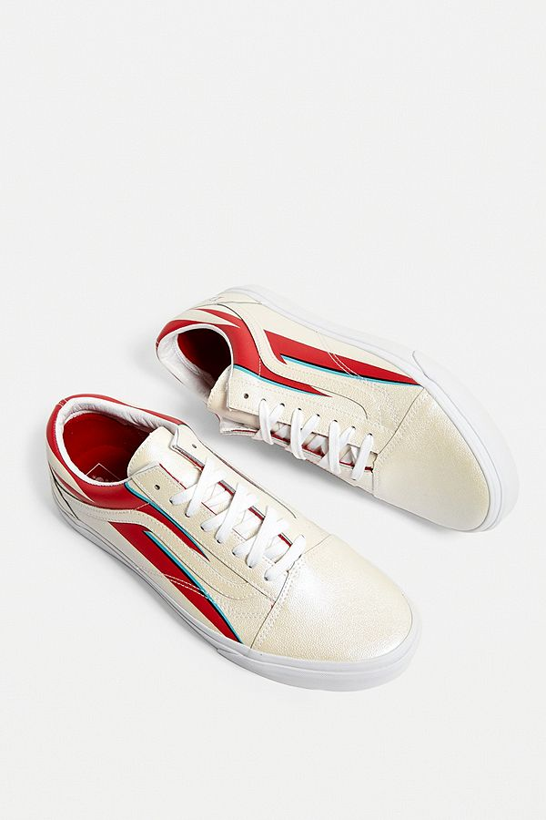 Vans X David Bowie Baskets Old Skool crème