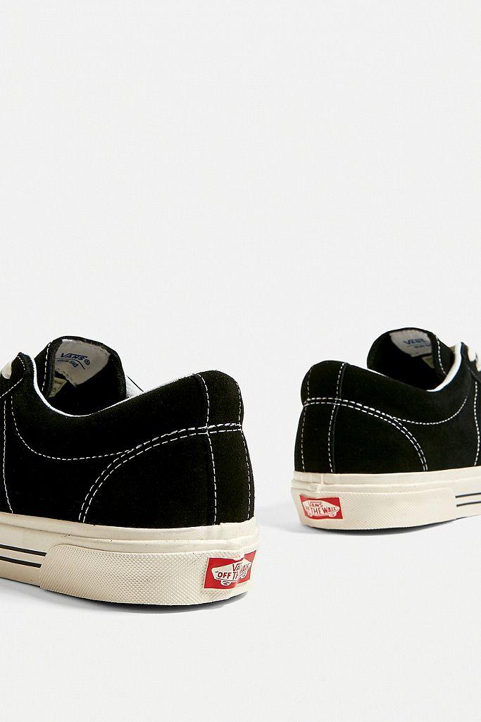 "Vans – Wildleder Sneaker ""Anaheim Factory Sid DX"" in Schwarz"