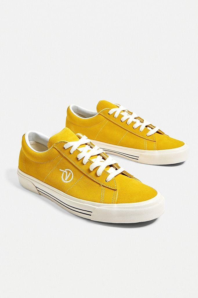 """Vans – Wildleder Sneakers """"Anaheim Factory Sid DX OG"""" in Weiß"""