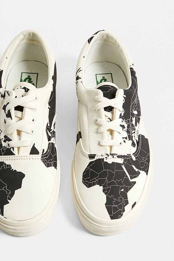 """Vans – Klassische schwarz weiße Sneakers """"Save Our Planet X Era"""""""