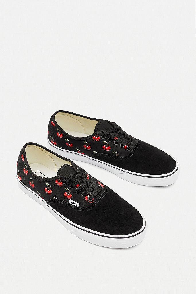 vans chaussure femme cerise