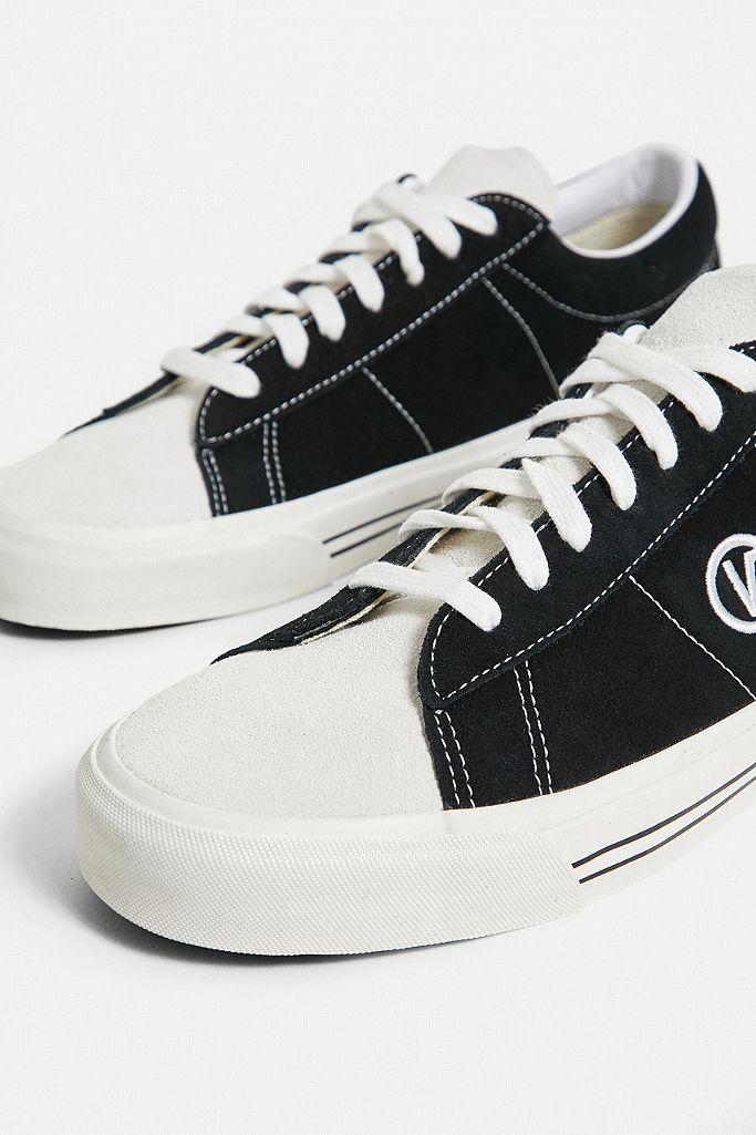"""Vans – Sneaker aus Wildleder """"Anaheim Factory Sid DX OG"""" in Schwarz und Weiß"""
