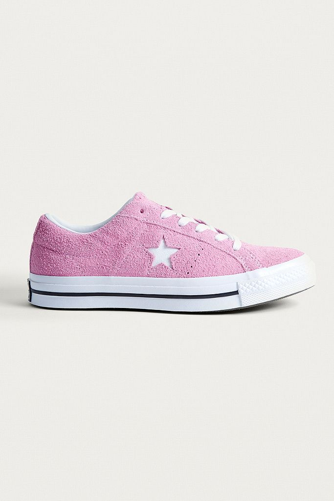 converse one star suede rose