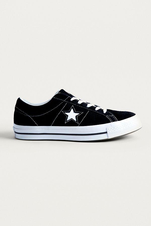 Converse One Star Sneaker Rauleder