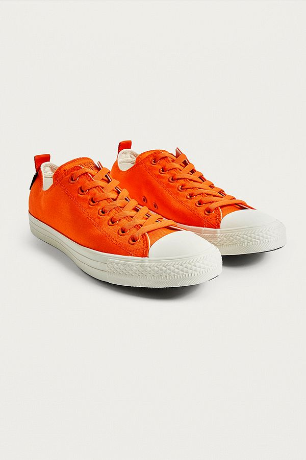 a4be3eb49b2f Converse Chuck Taylor All Star Mandarin Orange Low Top Trainers ...