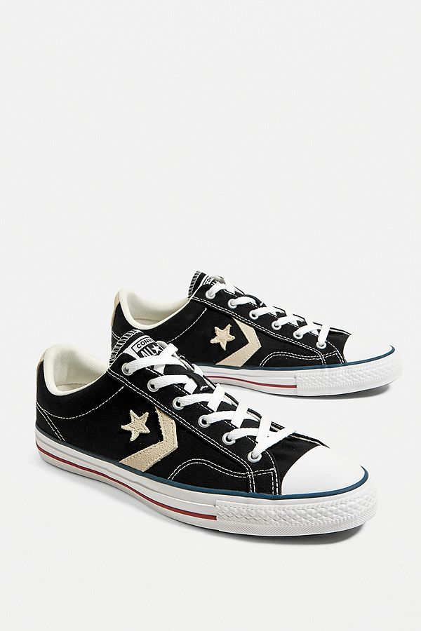 Converse Star Player Black Trainers