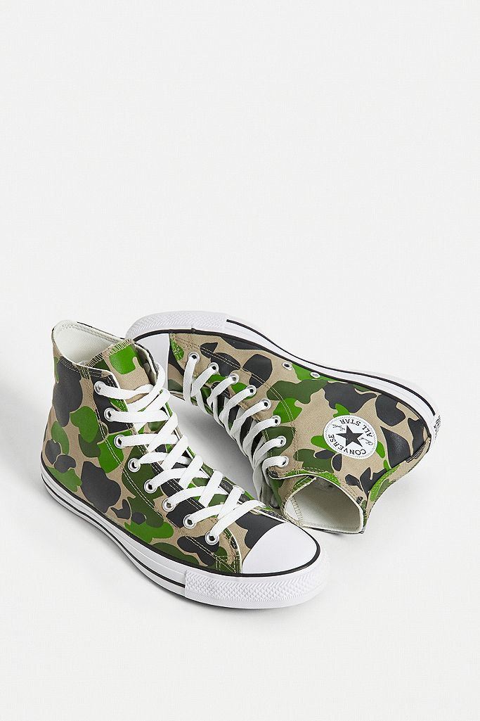 all star converse camouflage