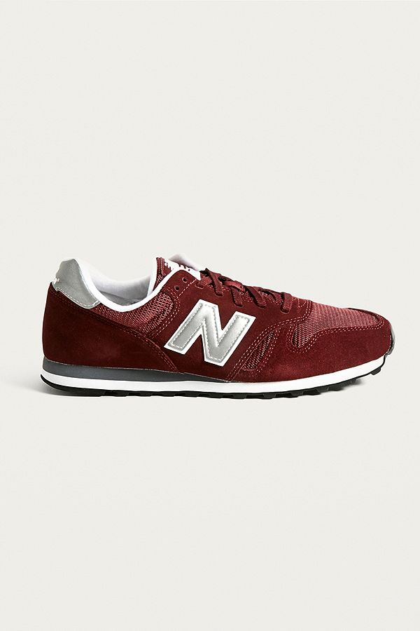 newest collection 1d8f1 a0290 New Balance 373 Burgundy Trainers