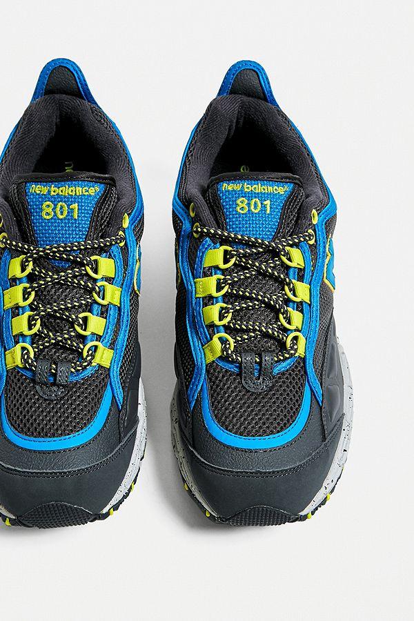 New Balance - 801 Trail Sneaker in Schwarz und Blau