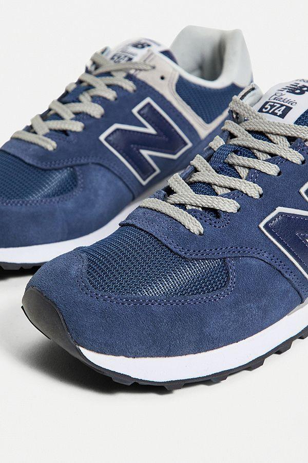 new balance femme 574 bleu marine