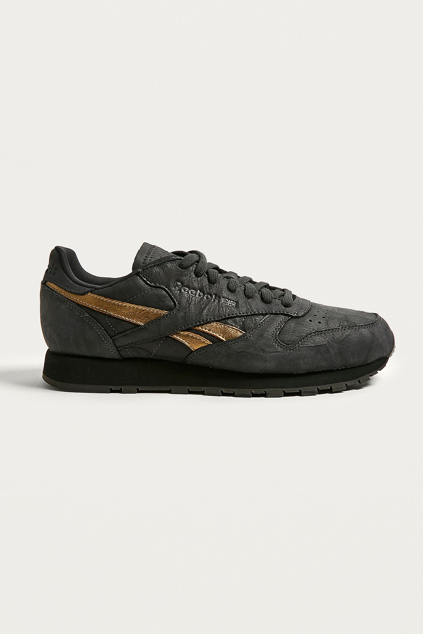 d586e05cc11 Reebok Classic Leather TU Black Trainers. Click on image to zoom. Hover to  zoom. Double Tap to Zoom