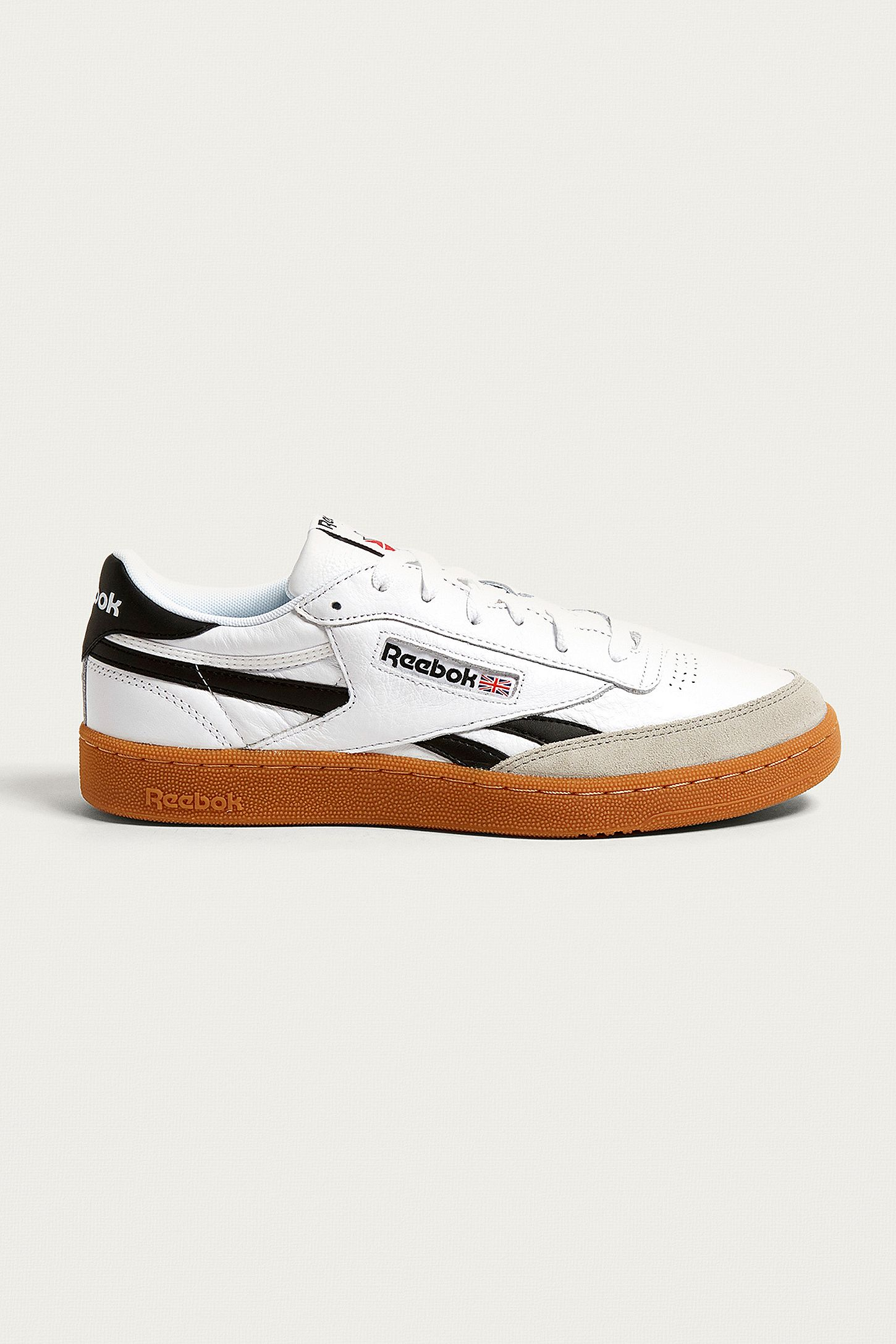fc2265723 Reebok Revenge Plus Gum Sole Trainers. Click on image to zoom. Hover to  zoom. Double Tap to Zoom