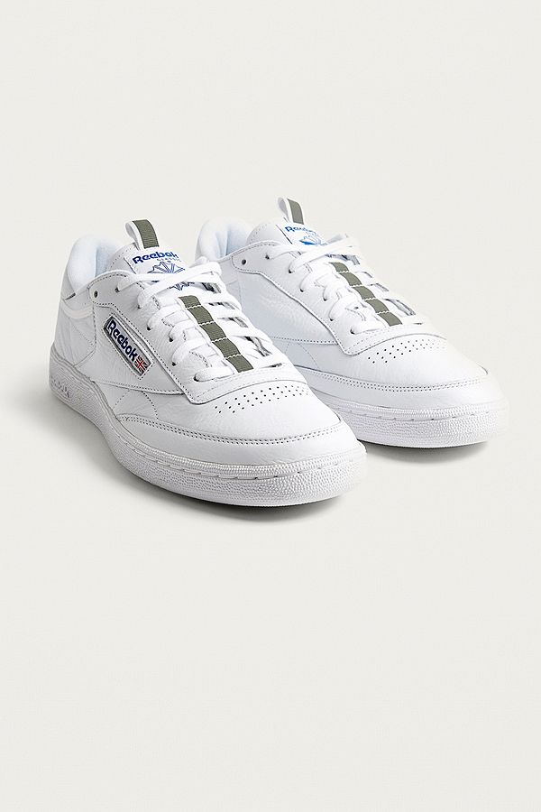 118d5db2b70 Reebok Club C 85 RT White Trainers
