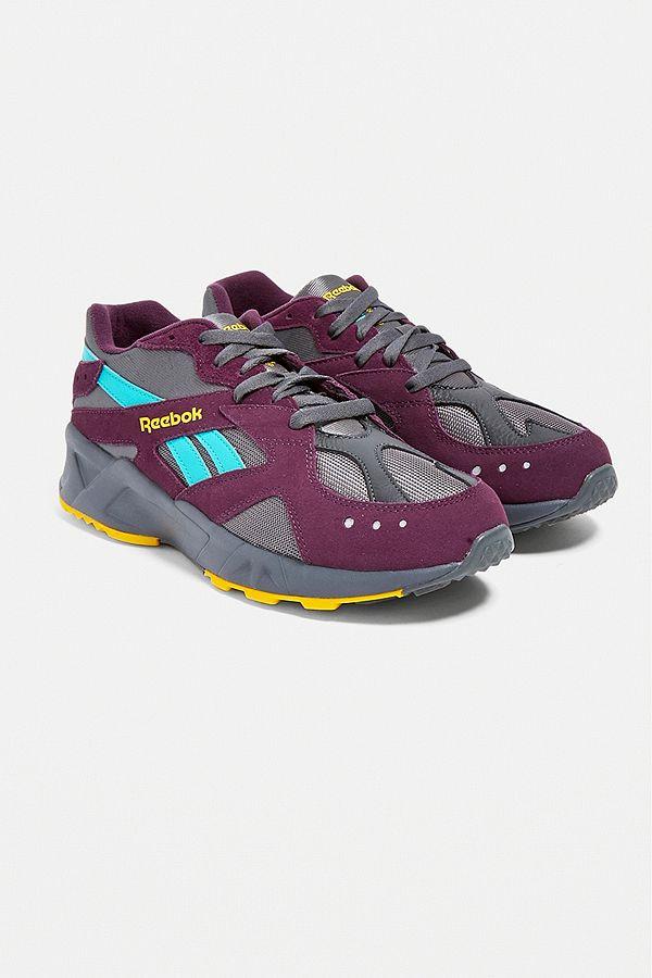 9b9750551726a Reebok Aztrek Purple Trainers