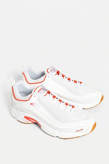 release date: fefa3 64249 Reebok DMX Retro White Trainers. Quick Shop